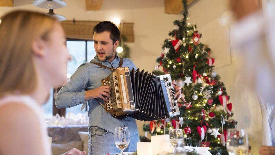 """""""Weihnachten ist wie eine Bühne."""""""