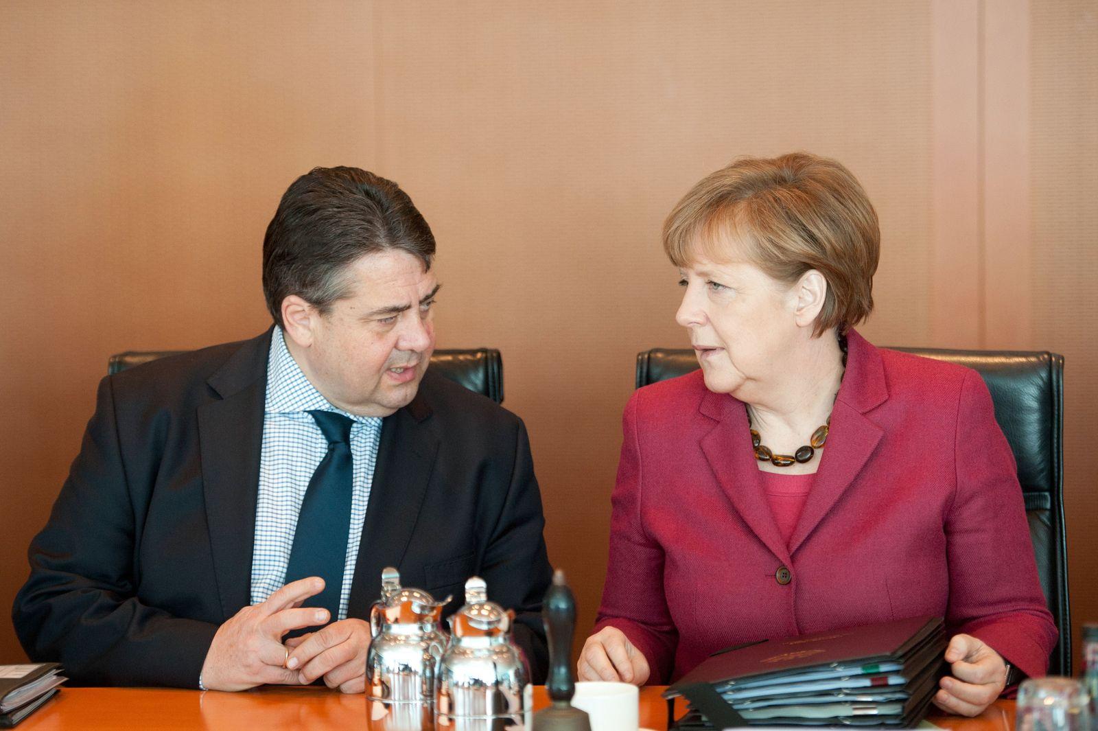 Angela Merkel/ Sigmar Gabriel