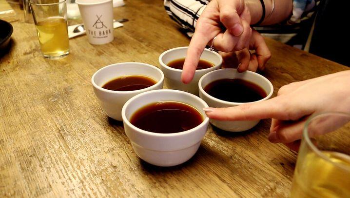 "Die Kaffee-Hipster: ""Aeropress""-Meisterschaft 2015"