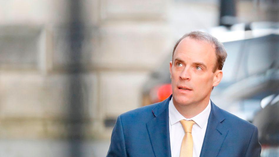 Dominic Raab: Vor einem Jahr wollte er Premier werden - jetzt muss er ihn vertreten