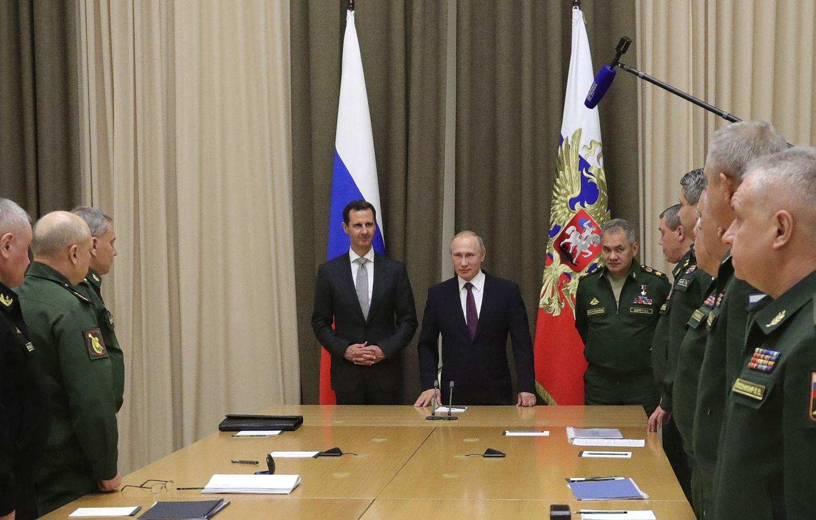 Wladimir Putin/Baschar al-Assad