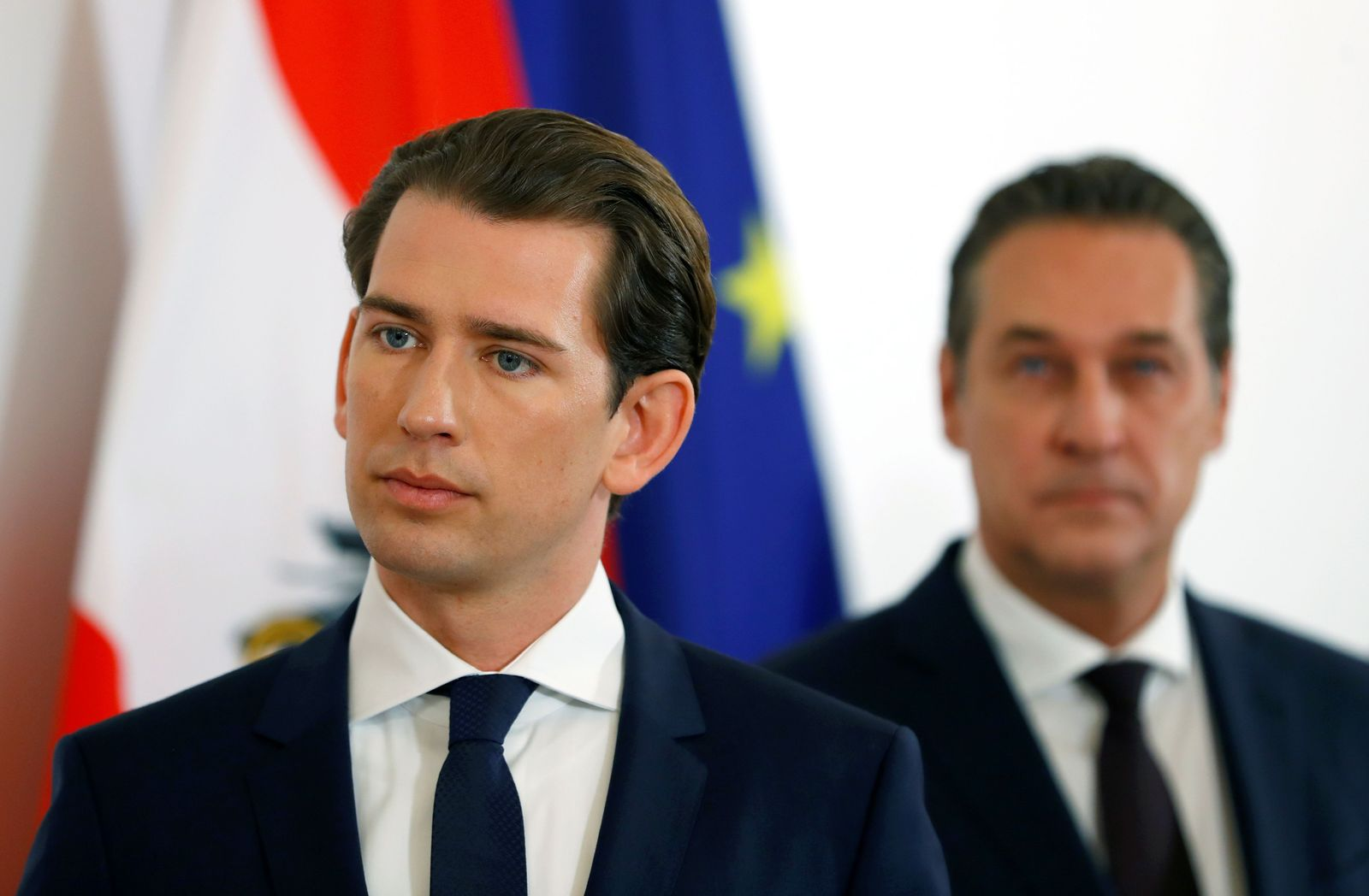 Sebastian Kurz/ Heinz-Christian Strache