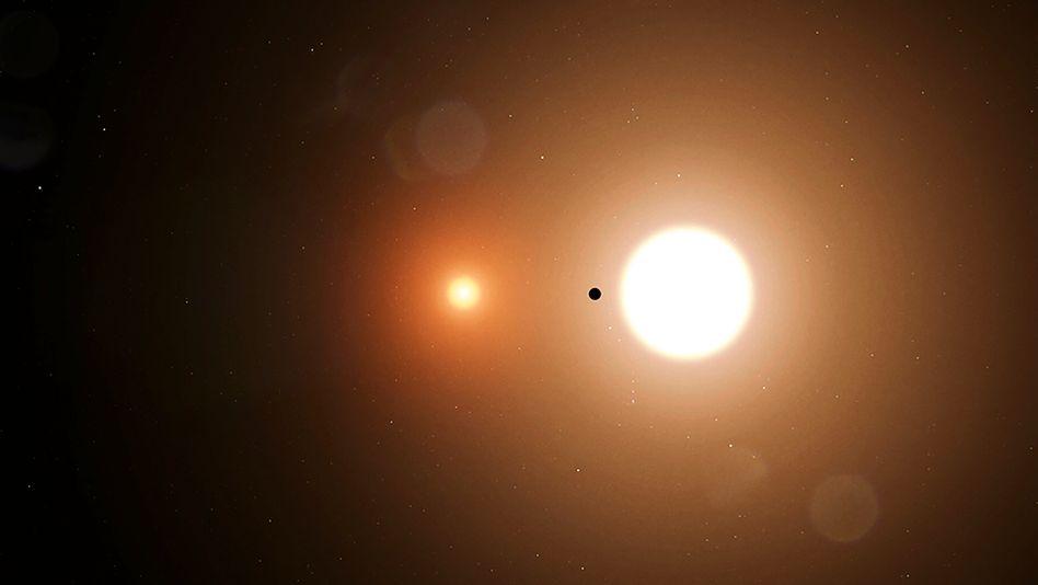 TOI 1338 b: Der Nasa zufolge ist es das erste Mal, dass TESS einen Planeten in einer Umlaufbahn von zwei Sternen entdeckte