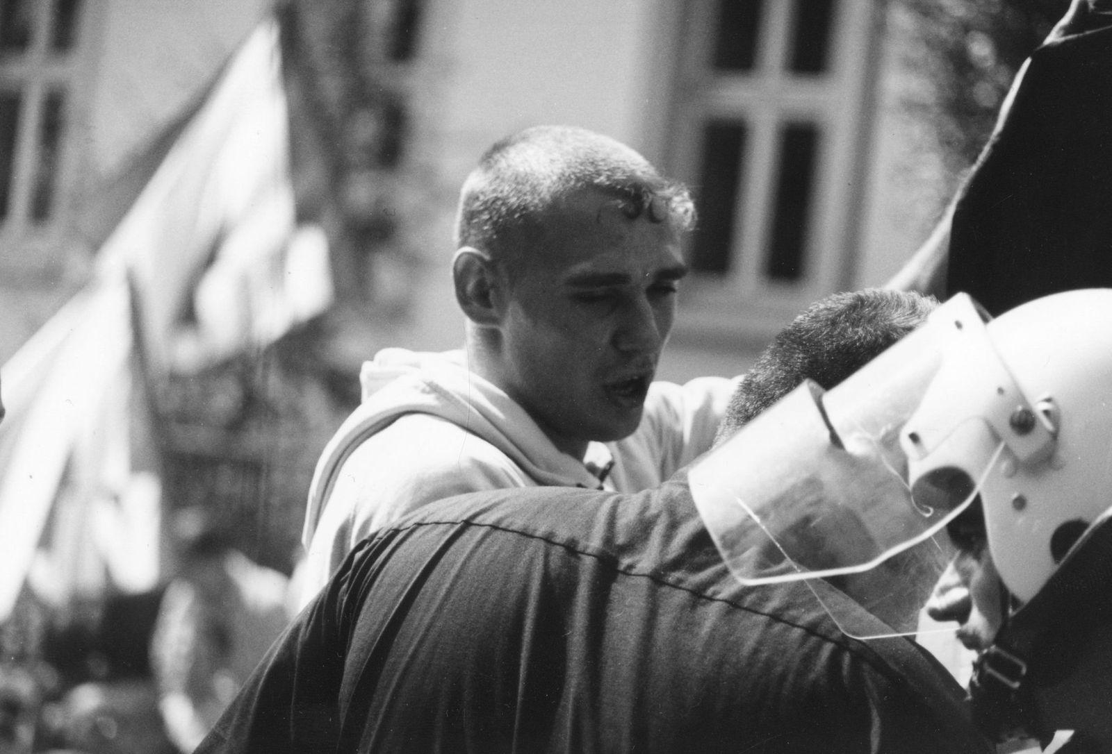 Rudolf Hess Demonstration Worms 1996 / NSU