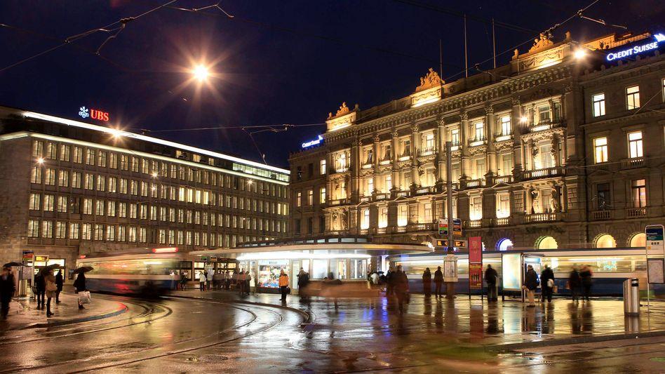 Paradeplatz in Zürich: Lob aus Berlin