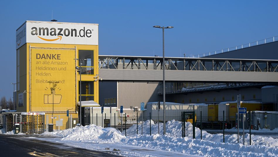 Amazon-Lager in Leipzig