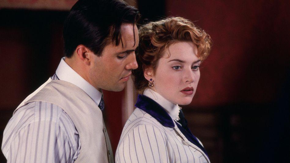 """Billy Zane als Cal Hockley (mit Kate Winslet): Noch immer auf """"Titanic"""" angesprochen"""