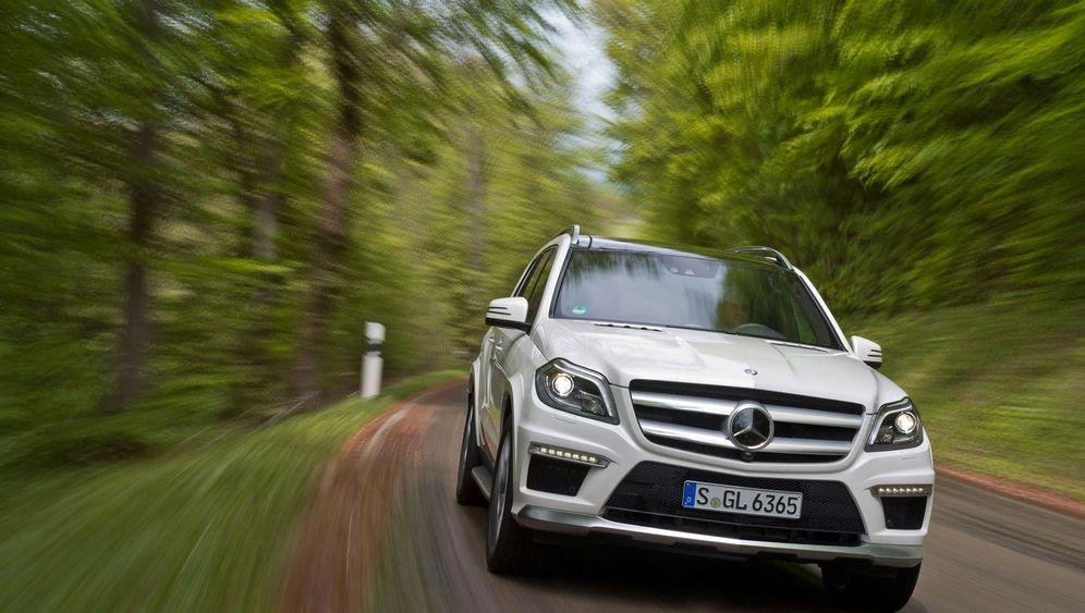 Mercedes GL 63 AMG: Die Baller-Burg