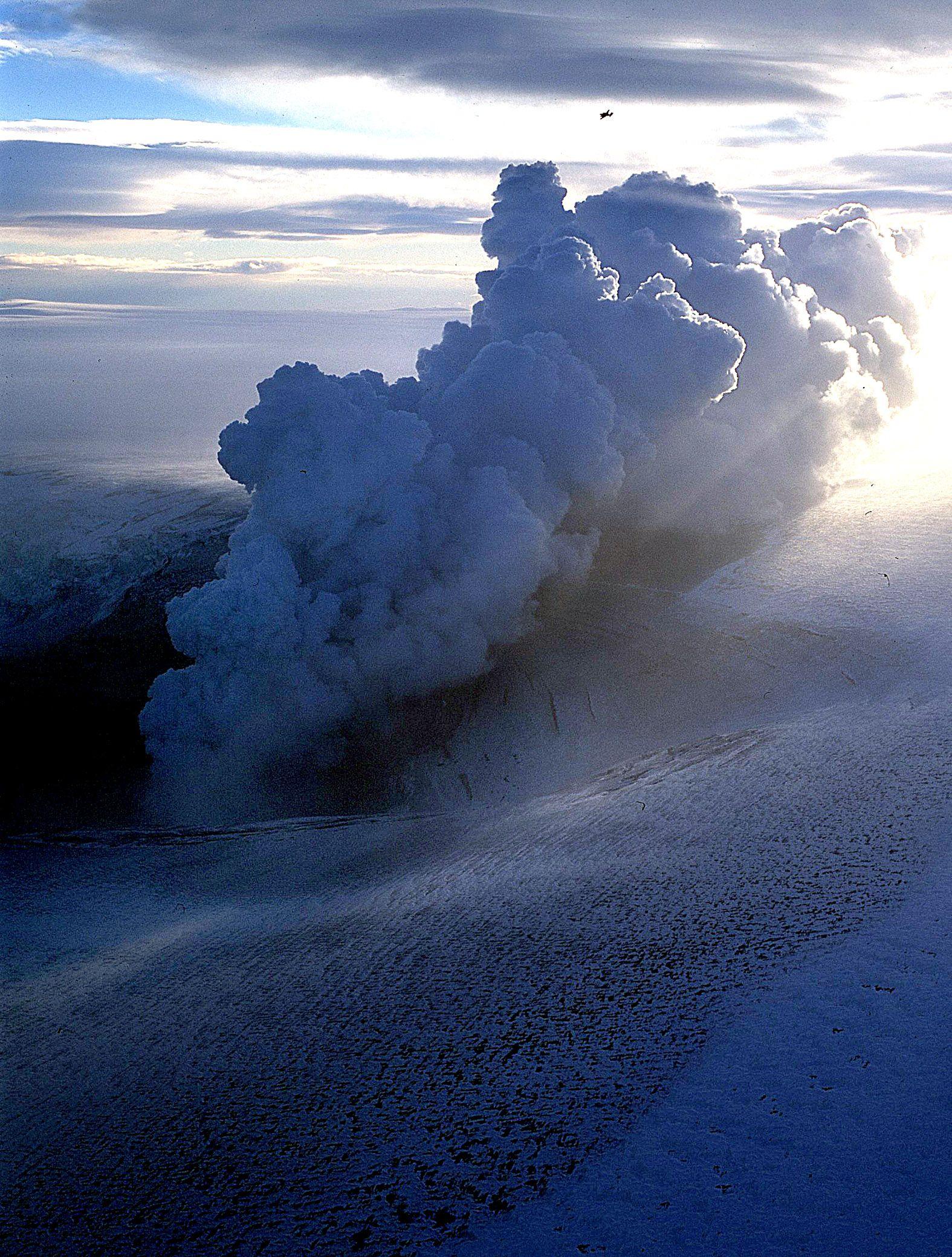 Grimsvotn / Vulkan / Island