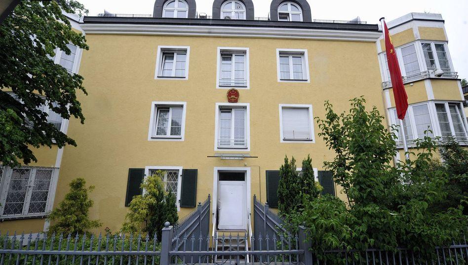 """Chinesisches Generalkonsulat in München: Bekämpfung der """"fünf Gifte"""""""