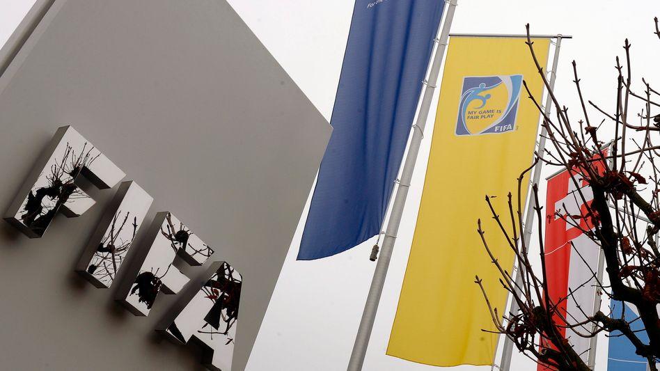 Fifa-Zentrale in Zürich: Zugriff der Schweizer Kantonspolizei