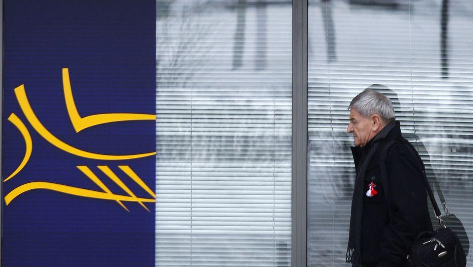 Filiale der Piräus Bank in der bulgarischen Hauptstadt Sofia (Archiv): Packt die Sparer die Angst?