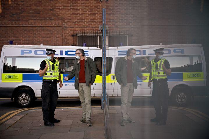 Krykant mit der Polizei: »Sie kennen das Problem«
