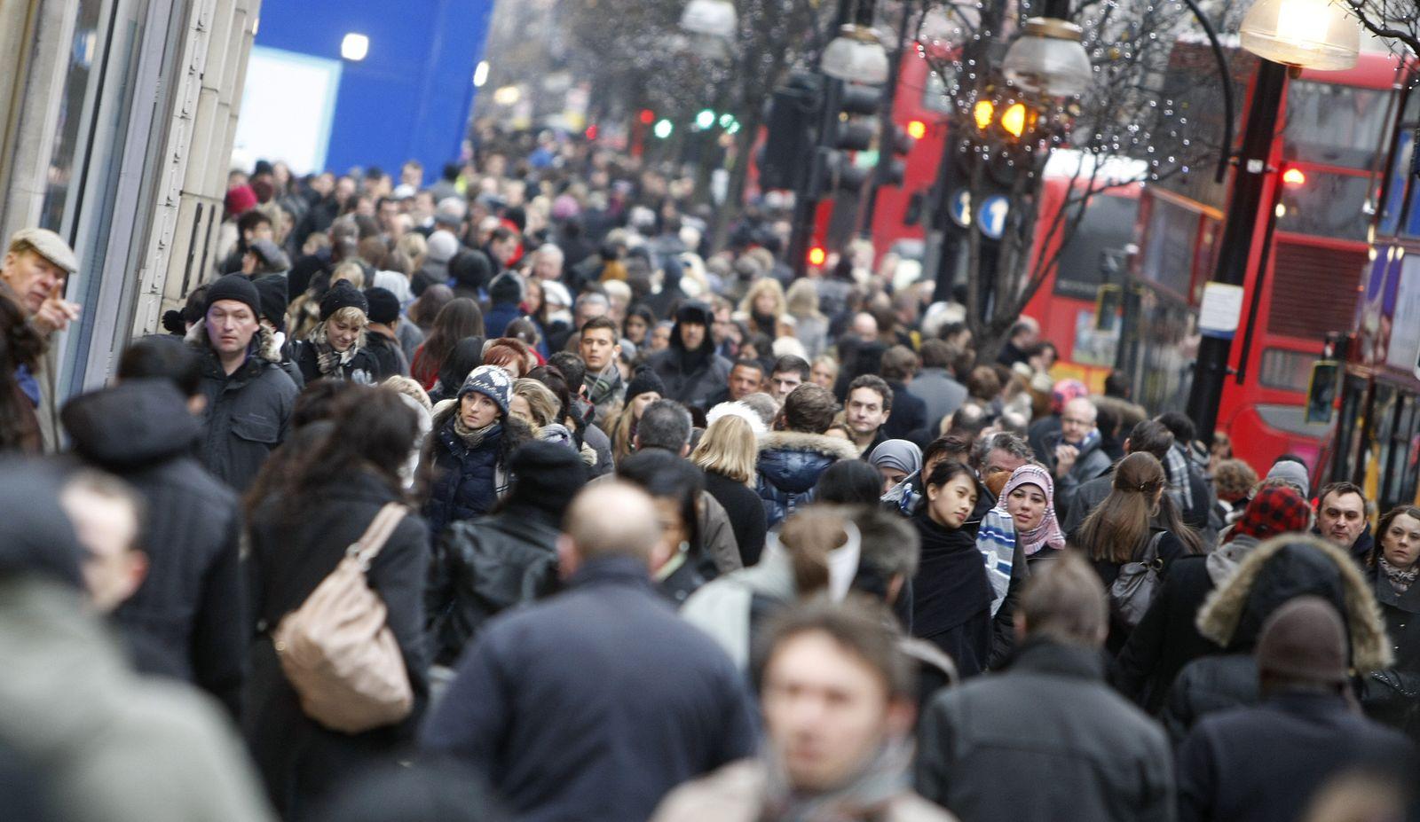 London / Einkaufen / Oxford Street