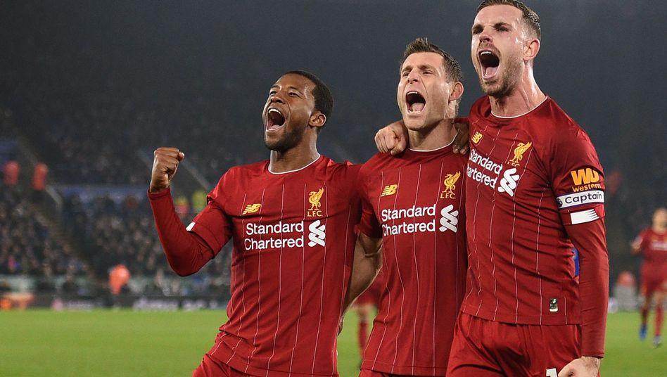 Liverpool kommt aus dem Feiern nicht mehr raus