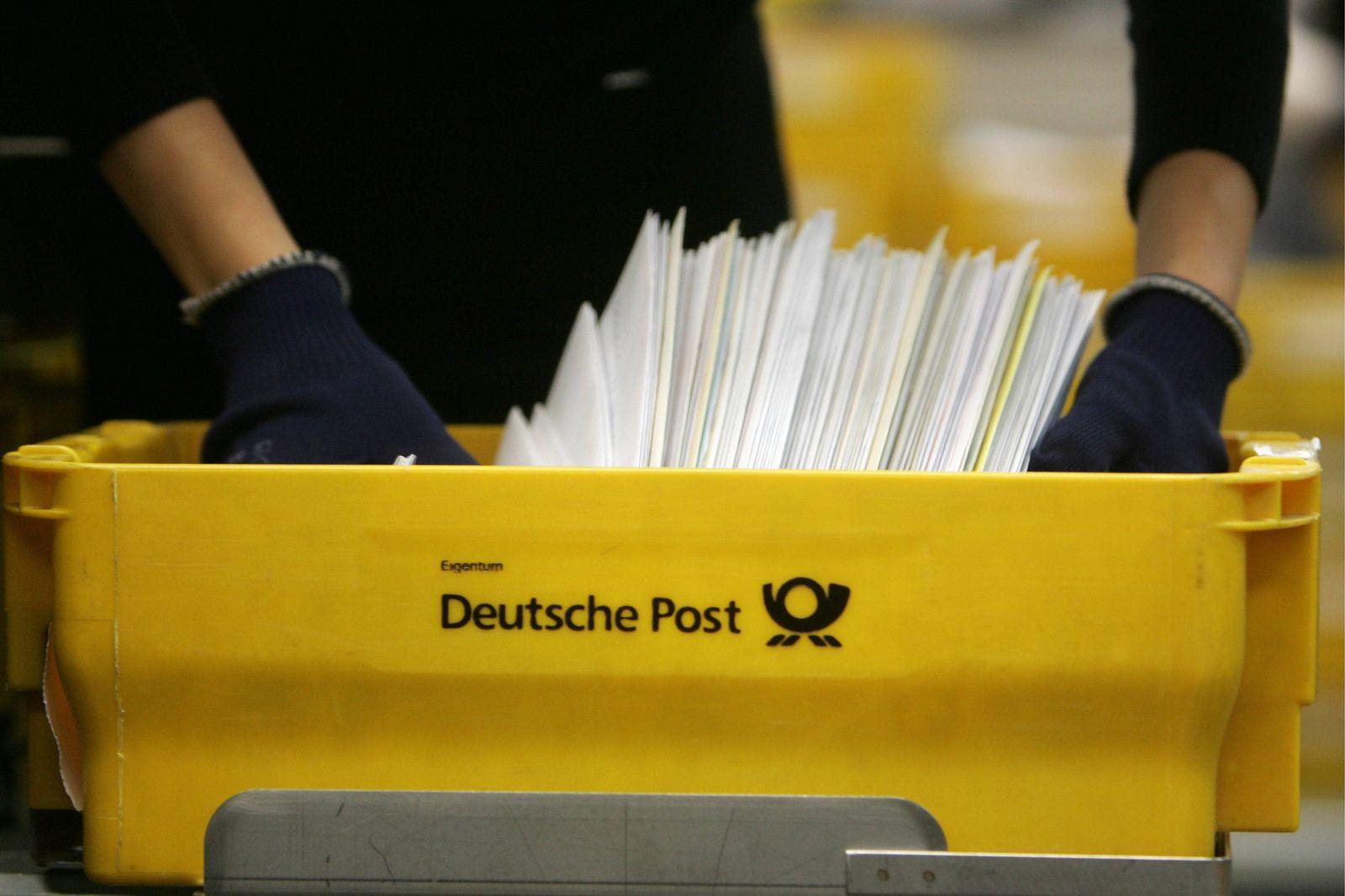 NICHT VERWENDEN Tarifverhandlungen bei der Post