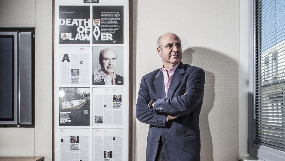 """Er nennt sich """"Putins Feind Nummer 1"""": William Felix Browder in London"""