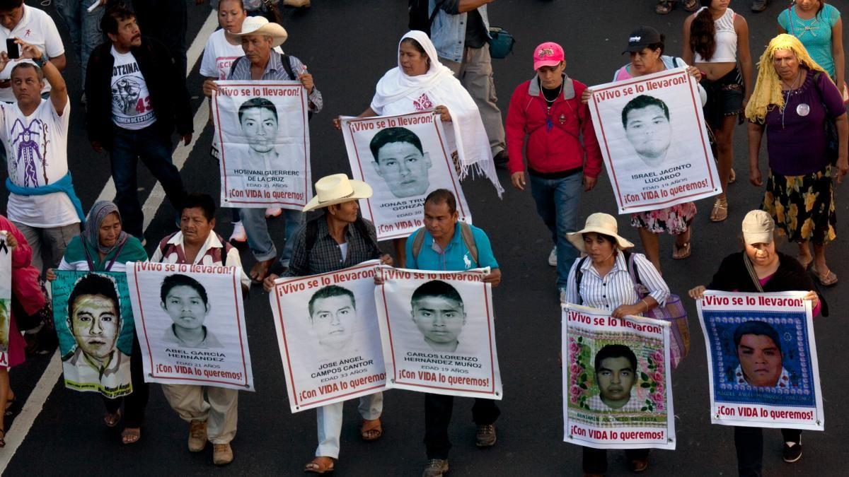 Mexiko 43 Studenten verschwunden