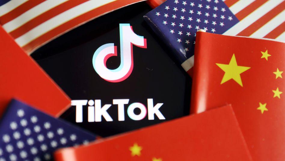 Das Logo von TikTok