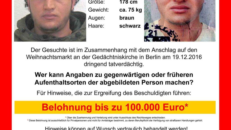 Prime suspect Anis Amri