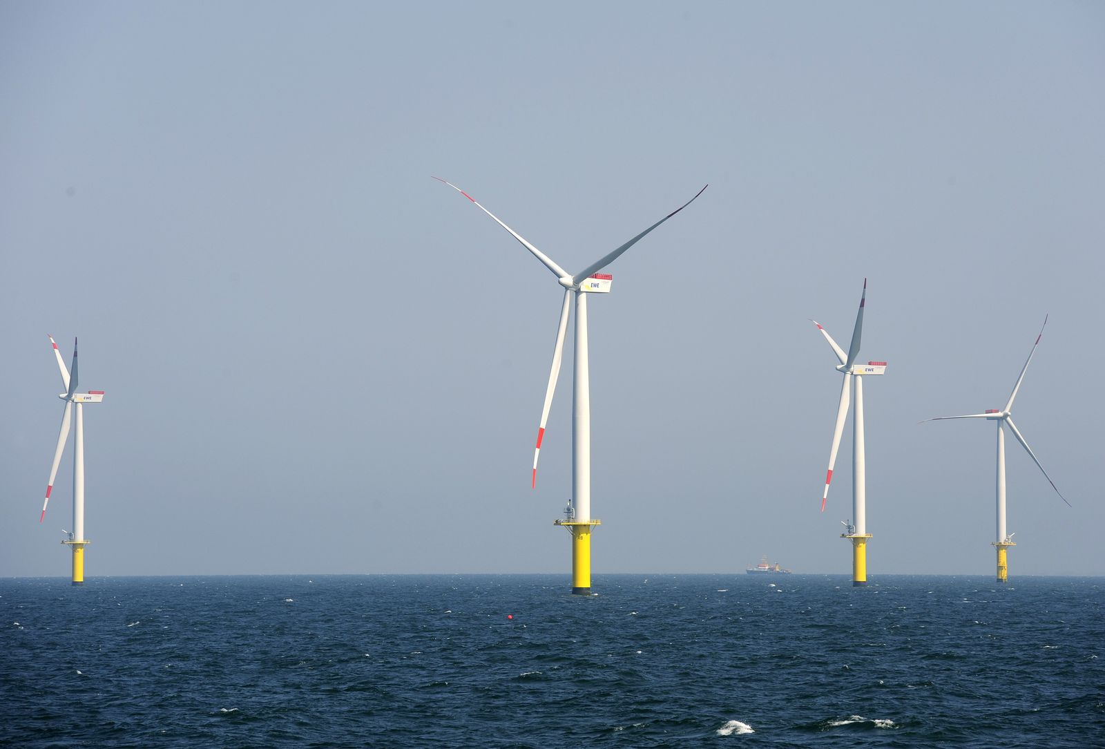 Windpark Nordsee / Riffgat / Offshore / Windenergie