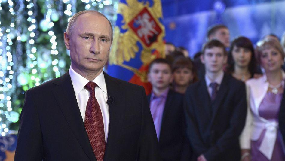 """Putins Neujahrsansprache: """"Wir werden alle Betroffenen dieser unmenschlichen Akte unterstützen"""""""