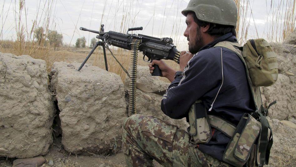 Afghanischer Soldat in Helmand: Taliban so mächtig wie seit 2001 nicht mehr