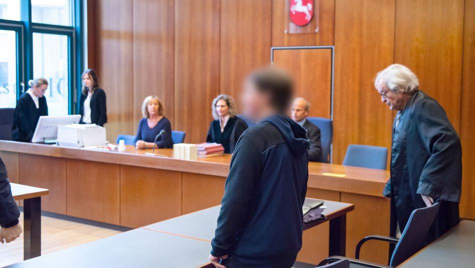 Angeklagter im Amtsgericht Göttingen