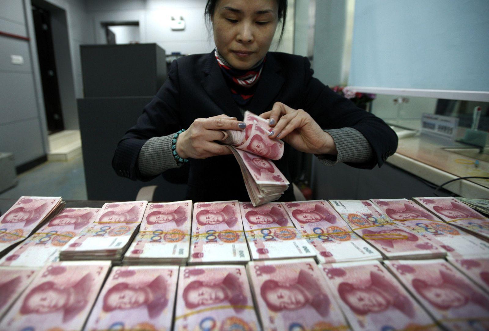 China Schulden Yuan