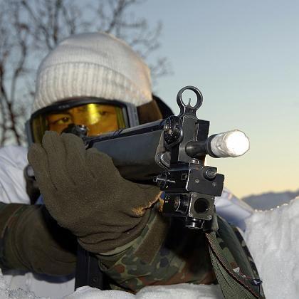 Türkischer Soldat im Nordirak: Im Tarnanzug gegen PKK-Kämpfer