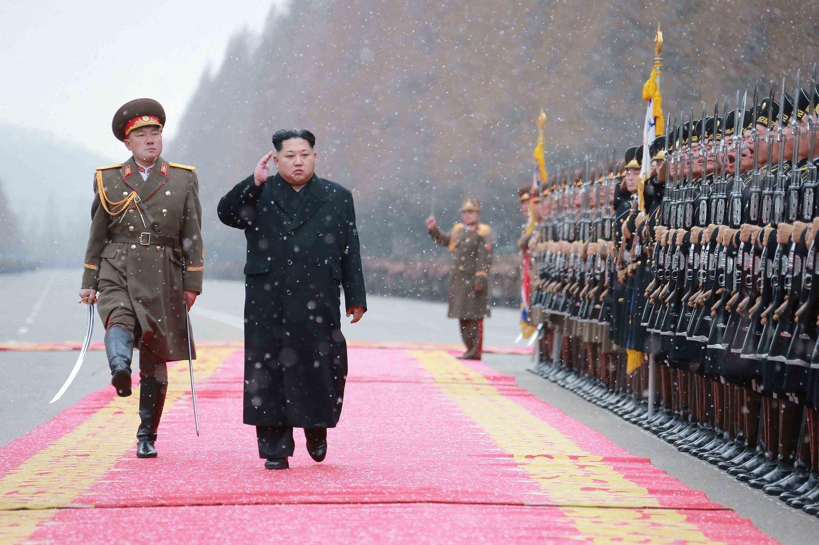 Kim Jong Un/Nordkorea