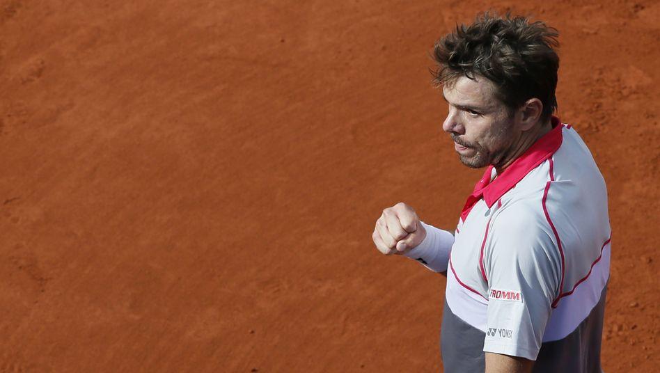 Stan Wawrinka: 6:4, 6:3 und 7:6 gegen Federer