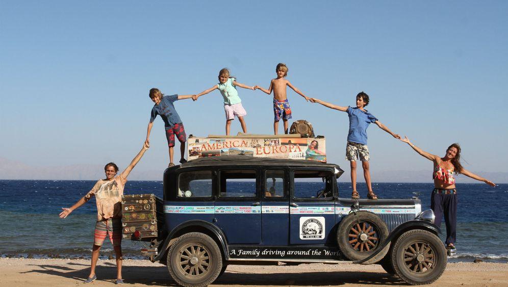Weltenbummler: Familie Zapp reist um die Welt