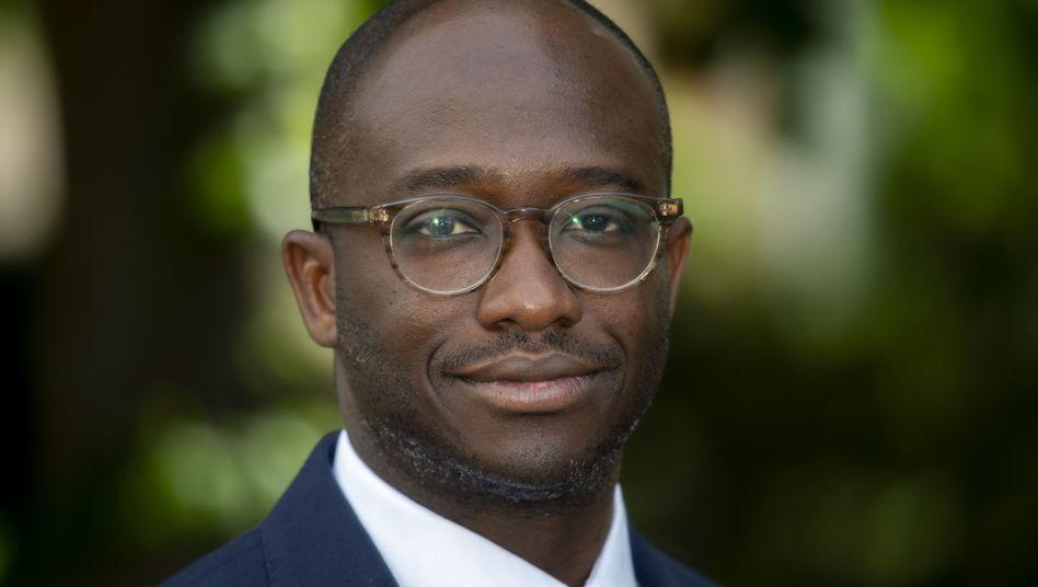 Abgeordneter Sam Gyimah, ehemaliger Staatsminister für Universitäten