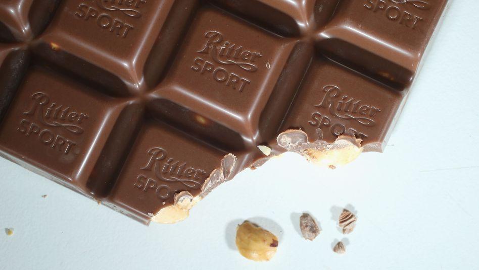 Voll-Nuss-Schokolade von Ritter Sport: Streit mit der Stiftung Warentest