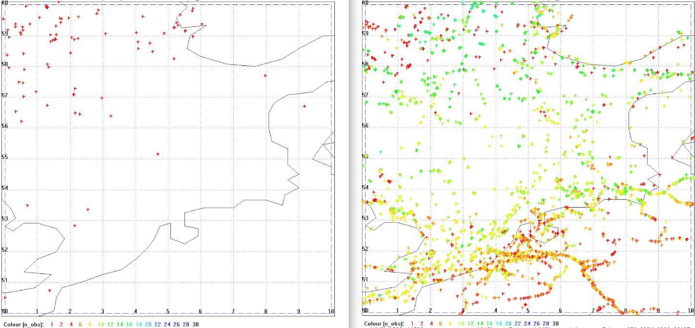 EINMALIGE VERWENDUNG Satellitenbild/ KW 4/ Schifffahrtswege/ Zusatz