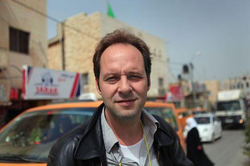 Dokumentarfilmer Marcus Vetter 2010 in Jenin