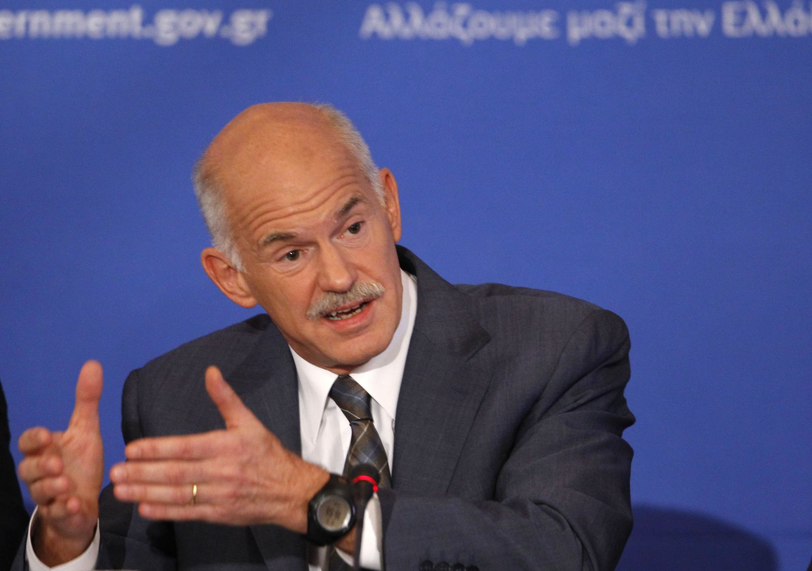 Griechenland/ George Papandreou
