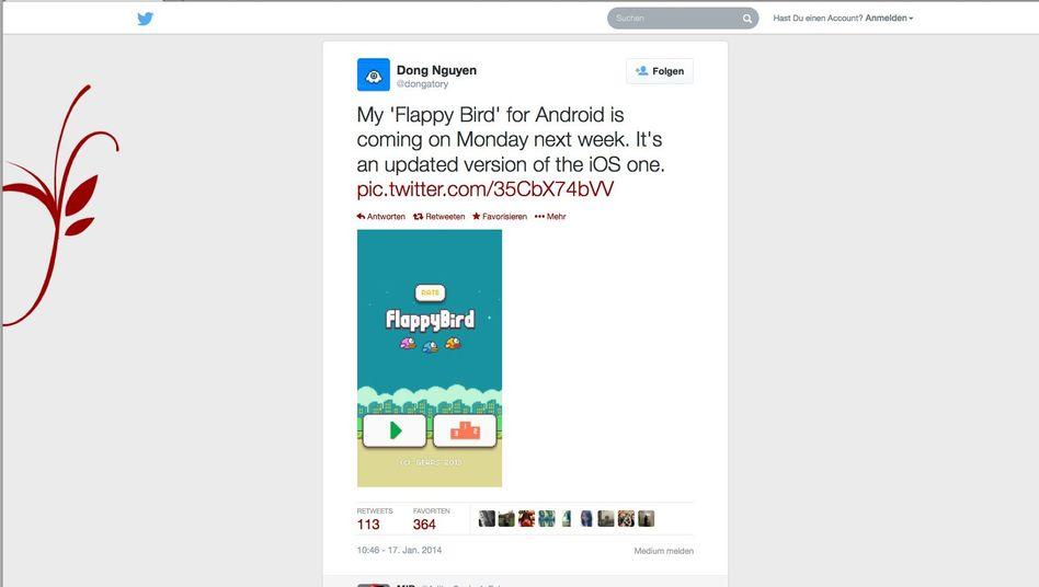 Flappy Bird: Ein Zwischendurch-Spaß, der es zur erfolgreichsten Gratis-Spiele-App der Welt brachte