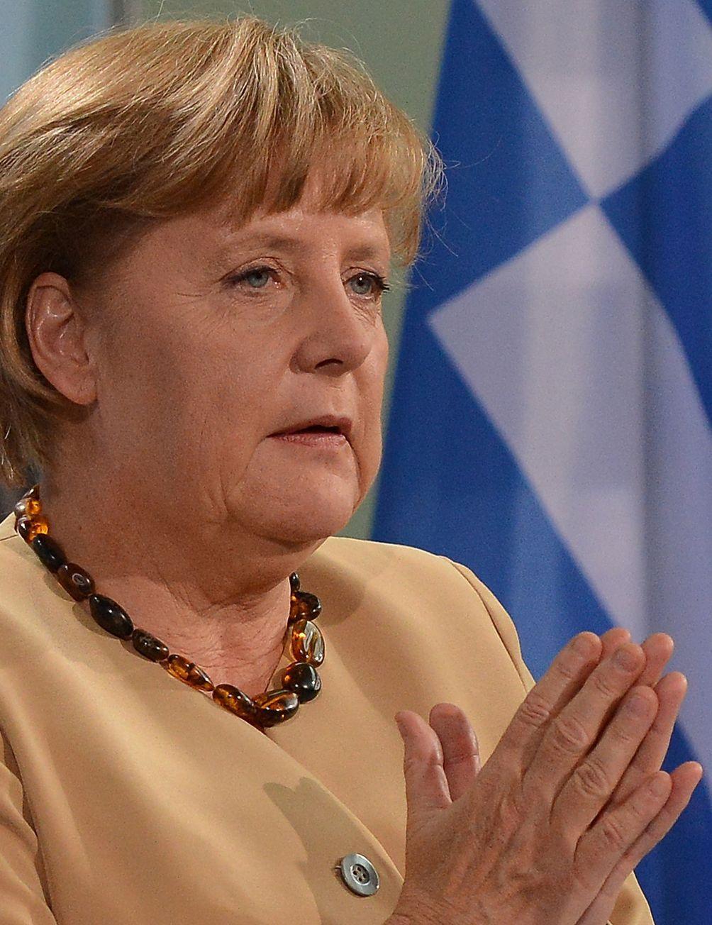 NICHT VERWENDEN Merkel Griechenland