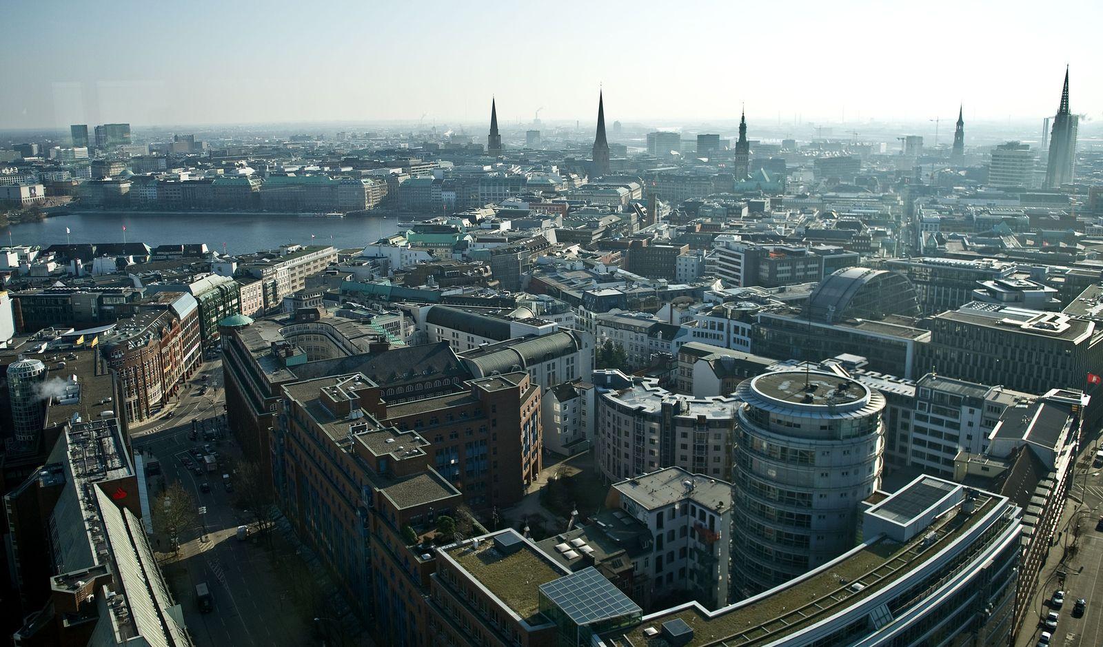 Stadtansicht Hamburg