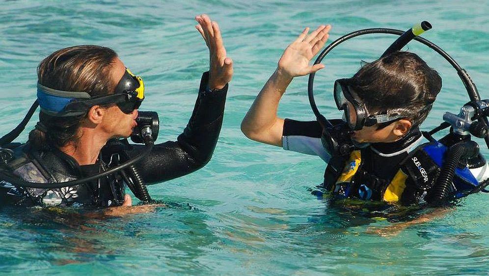 Tauchen mit Kindern: Entdeckungstour zu Nemo und Flipper
