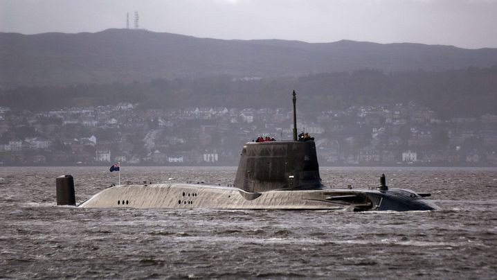 Vor Schottland: Atom-U-Boot auf Grund gelaufen