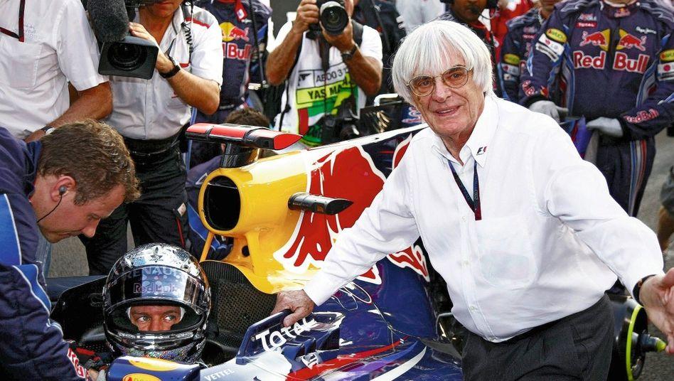Formel-1-Chef Ecclestone in Abu Dhabi