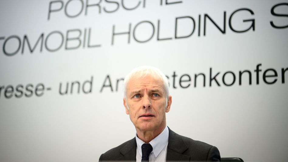 Matthias Müller, der ehemalige Vorstandsvorsitzende der Volkswagen AG