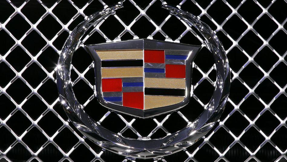 Cadillac-Logo: Weltmarke mit starker Konkurrenz