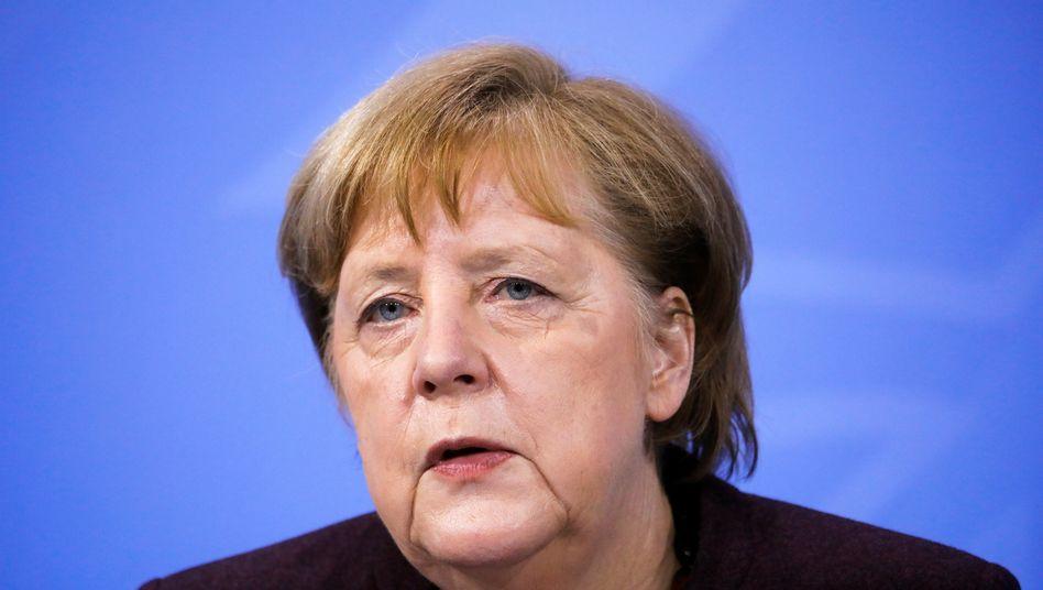 Bundeskanzlerin Merkel mahnt bei der Lockerung der Corona-Auflagen zur Vorsicht