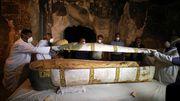 3500 Jahre alter Sarkophag geöffnet