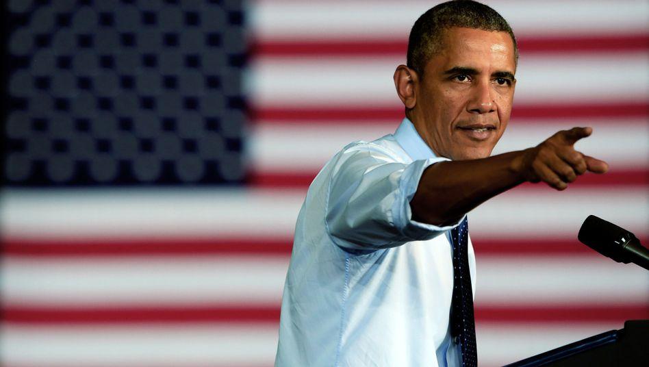 Spitzentreffen zum US-Shutdown: Obama geht volles Risiko
