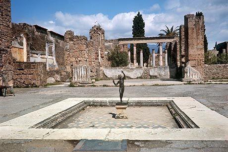 Waffen für die Wächter: Wegen eines Streiks gehen Pompeji-Besucher derzeit leer aus